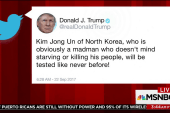 In tweet, Trump says Jong Un 'obviously a...