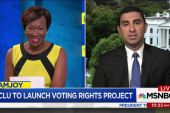 ACLU to launch nationwide voting rights...