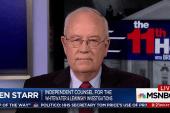 Ken Starr: Trump will be under oath before...