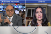Actress Salma Hayek donates money to...