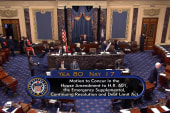 Senate Passes Harvey Relief, Debt Ceiling...