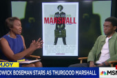 Boseman stars in dynamic Thurgood Marshall...