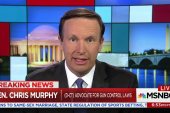 Senator Murphy looks for opening for gun laws