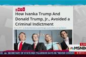 Emails show Ivanka, Trump Jr. planning lies
