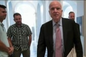 Did McCain go after Trump for draft dodging?