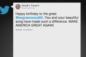 Trump tweets at the wrong Lee Greenwood