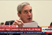 Report: First charges filed in Mueller probe