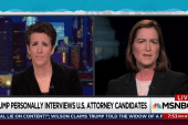 Trump U.S. attorney screenings unheard-of