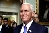 Is there strategy behind Mike Pence's...