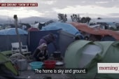 Syrian family rebuilds their lives far...