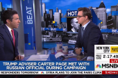 Chris Hayes: I'm flummoxed by Carter Page