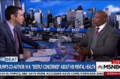 Jelani Cobb: Concerns about Trump's health...