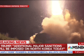 Trump announces new North Korea sanctions...