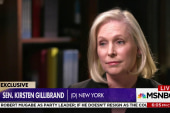 Sen. Gillibrand on next steps for Sen....