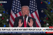 Trump lying or ignorant about GOP tax bill
