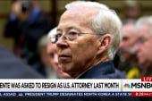 Dismissal of key US attorney a mystery