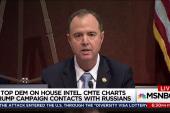Schiff ends Trump Russia collusion question