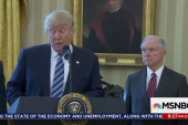 Trump fails to keep proper distance from DoJ