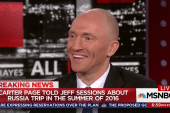 Page says he told Sessions about Russia trip