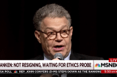 Franken returning to work, looks to rehab...