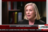 Mika: I think Kirsten Gillibrand sees the...