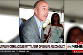 Multiple women accuse Lauer of misconduct