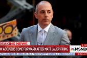 New accusations against Matt Lauer come out
