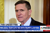 Flynn's defense to stop sharing...
