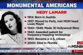 Monumental Americans: Hedy Lamarr