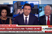 "Trump on Flynn: He ""turned on me"""