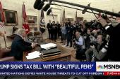 A year in Trump's press mishaps