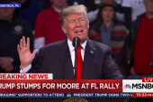 Trump fully endorses Roy Moore at Florida rally