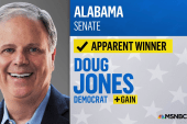 Doug Jones triumphs over Roy Moore in AL Sen. race