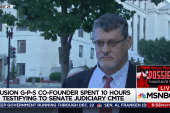 Fusion GPS testimony approved for release