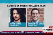 Flynn case allows peek at Mueller legal team
