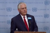 Tillerson: 'Cannot accept the progress of North Korea's program'