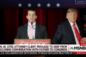 Can Trump Jr. claim attorney-client...