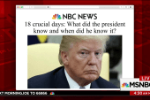 Over 18 crucial days, what did Trump know...