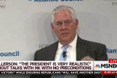 Tillerson inches to diplomacy with North Korea