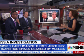 Did  Mueller unlawfully obtain Trump Transition team emails?