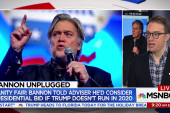 Bannon's political ambitions: is he planning to run for president?