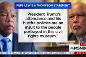 Reps. Lewis, Thompson to skip Trump visit...