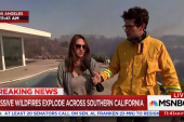 Los Angeles residents react to devastation...