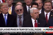 Republicans lavish praise on Trump, but how do they really feel?