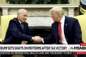 Tough road ahead as Trump sets sights on Midterms after tax law