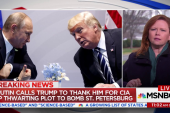 Putin Calls Trump to Thank Him For CIA Tip Thwarting Bomb Plot