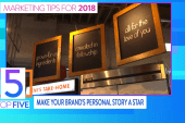 Top 5 marketing trends for 2018