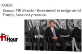 Rpt: Trump & Sessions pushed FBI's Wray to fire his deputy