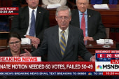 Sen. McConnell blames Dems for 'avoidable' shutdown