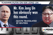 Putin: North Korea's 'won this round' against the West